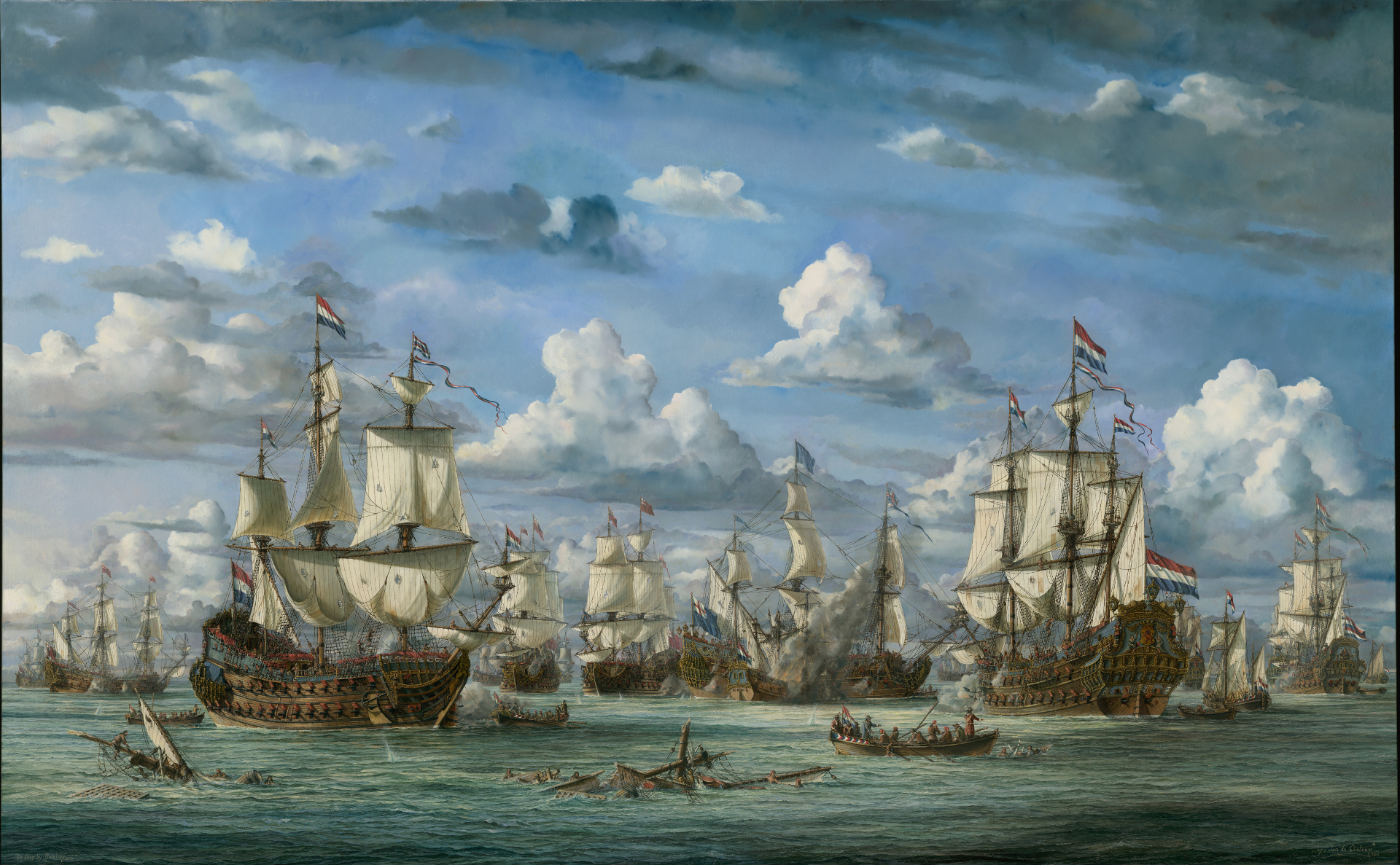 The battle of Solebay 1672