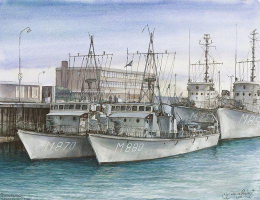 Marine Kazerne Vlissingen anno 1970